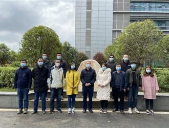 同济医院光谷院区抗击新型冠状病毒肺炎疫情纪念园揭幕