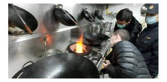 江夏餐饮企业从复工申报到通气  最快半小时内搞定