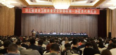 湖北省建设工程质量安全协会第五届一次代表大会顺利召开