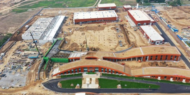 雄安新区首个净水厂工程建设有序进行